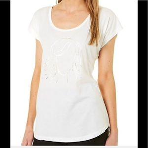 NEW Girl Foil T-shirt